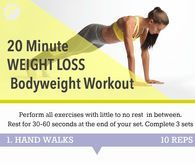 20 Minute Full Body Workout For Weight Loss