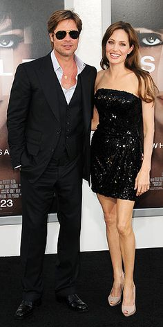Angelina Jolie and Brad Pitt Divorce: Their Most Memorable Red Carpet Moments Brad And Angelina Jolie, Brad And Angie, Brad Pitt Divorce, Celebrity Couples, Celebrity Style, Jolie Pitt, Famous Couples, Pitta, Celebs