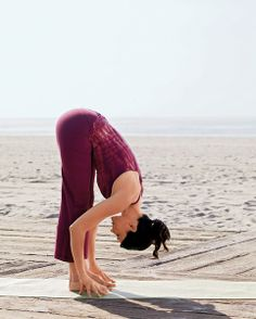 Stay Loose: Four #yoga poses to soothe stiff, aching muscles.