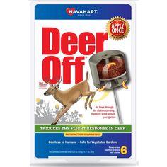 Havahart Deer Off 1.5 lb. Weatherproof Deer Repellent Stations (6-Pack)-DO5600-6 - The Home Depot