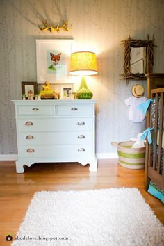 Forest Nursery- THIS IS THE ONE! Could even make it a little more girlie for a girls nursery.