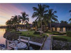 PORT ROYAL Luxury Waterfront Home 3845 Fort Charles Dr, Naples FL  $15,950,000 US Scott Pearson Naples, FL