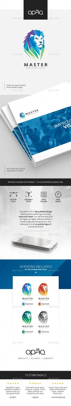Best Animal Logo Template Design Images On Pinterest In - Logo layout templates
