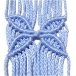 Learn to tie Double Half Hitch Patterns for your Macrame projects. Free Macrame Patterns, Macrame Wall Hanging Patterns, Large Macrame Wall Hanging, Jewelry Patterns, Macrame Knots, Micro Macrame, Macrame Jewelry, Half Hitch Knot, Rustic Picture Frames