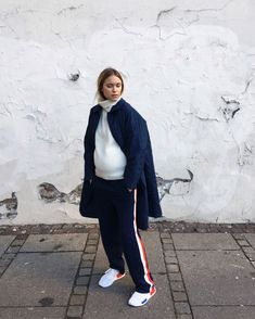 Stylist Pernille Teisbaek shows us how the cool, fashion-conscious mom bumps up her maternity style with Vetements and Balenciaga. Stylish Maternity, Maternity Dresses, Maternity Fashion, Maternity Style, Pregnant Outfit, Pregnancy Wardrobe, Pregnancy Dress, Pregnancy Looks, Bump Style