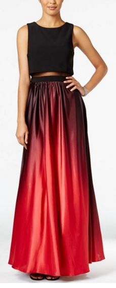 4b9d195b1fd Betsy  amp  Adam Ombre Illusion Popover Gown http   www1.macys.