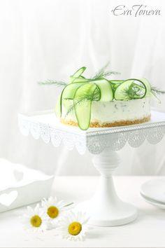 cucumber cheesecake