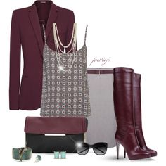 Long Tall Merlot, created by rockreborn on Polyvore