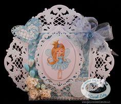 CLutzy Cards: Polkadoodles Serenity Princess