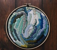 embroidery art modern embroidery embroidery hoop art