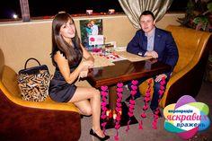 Романтичне побачення в ресторані ♥ Найцінніший подарунок - це яскраві емоції щастя! (093) 893 63 00