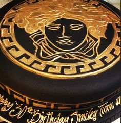 Versace bday cake