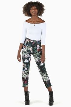 Take My Monet Cuffed Pants BM - Classics and Staples (BM Fit) - Collections Black Milk Clothing, Cuffed Pants, My Black, Lady And Gentlemen, Fit S, Take My, Monet, Style Icons, My Style