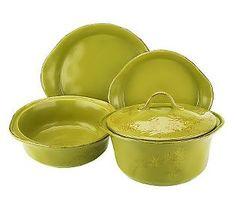 Rachael Ray Cucina Rustica 5-Piece Stoneware Baker Set