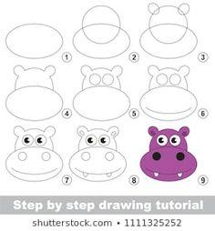 Portfolio di foto e immagini stock di Kid_Games_Catalog Drawing Skills, Drawing Lessons, Art Lessons, Games For Kids, Art For Kids, Crafts For Kids, Kid Games, Easy Drawings For Kids, Drawing For Kids
