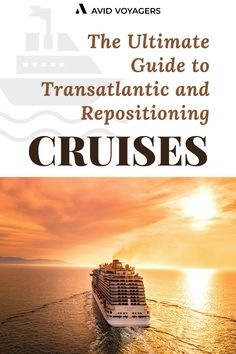 Whether you're a perpetual cruiser with RCI Pinnacle Club Loyalty benefits (700 cruise days in the bag and counting!) or a newbie, tentatively dipping your toe into the world of cruising, we have something that should be of interest to you – Transatlantic and Repositioning Cruises.