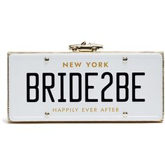 Rental kate spade new york accessories Wedding Belles Bride2Be Clutch (230 BRL) ❤ liked on Polyvore featuring bags, handbags, clutches and embossed handbags