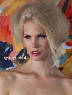 Model: Daniela Christiansson,  MAJOR Model Mgmt (NY)  Photographer: Daniel Stoot MUA/Hair: TJ Romeland