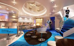 Norwegian Cruise Line Breakaway Studio Lounge