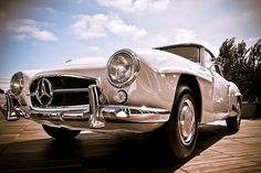 1961 Mercedes-Benz 190 SL. Full factory restoration by the Mercedes-Benz Classic Center.