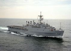 WASHINGTON (April 16, 2013) An undated file photo of a starboard bow view of the amphibious transport dock ship USS Trenton (LPD 14) underway.  (U.S. Navy photo by Photographers Mate 2nd Class Bates/Released)