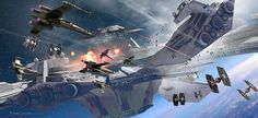"""theamazingdigitalart: """"The amazing concept art for Star Wars: Rogue One The Art of Rogue One: A Star Wars Story """""""