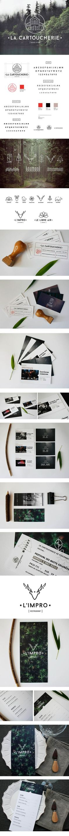 Theater : La Cartoucherie by Sacha Grellard, via Behance