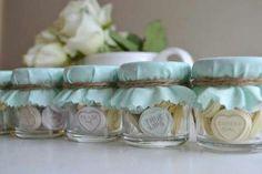 Ideias de lembrancinhas: potinhos com doces