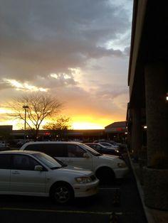 Wow, look at that Mesa, AZ sunset