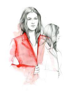 Dior Couture fall 2015 Do you like my tight sweater ? - Caroline Andrieu