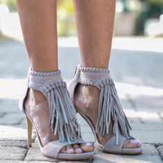 Santa Fe Fringe Sandals by Chinese Laundry Shoes #heels #shoes #losangeles