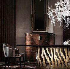 Roberto Cavalli Home dining room