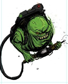deviantART Picks 9/02//2014 Tuesday Edition #Slimer #Ghostbusters #IDW | Images Unplugged