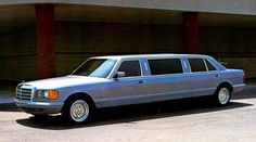 1985 Mercedes 500SEL Limo Factory Photo c2315-SCWICA