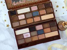 Splurge or save? Too Faced SEmi Sweet Chocolate Bar palette vs Makeup Revolution Salted Caramel