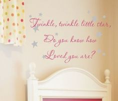 i want to put this in our baby girl's nursery