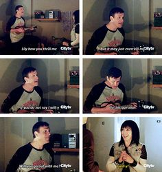 The most adorable couple Lily & Marshall <3