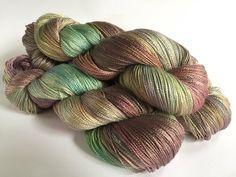 Sea Angel Silk Seacell Lace. Secret Kingdom by SolsticeYarns
