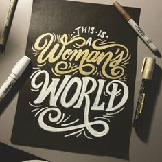 """""""In honor of #internationalwomensday Here's a piece I did a while back of @bjthechicagokid song """"Women's World"""" Really great song dedicated to the lovely…"""""""