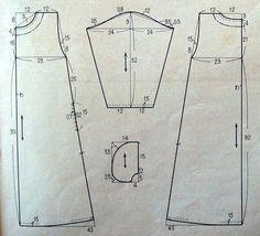 wp automatic <img> Fashion design, patterns and sewing - Japanese Sewing Patterns, Sewing Patterns Free, Clothing Patterns, Design Patterns, Sewing Basics, Sewing Hacks, Sewing Tutorials, Diy Crafts Dress, Diy Dress