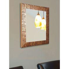 American Made Rayne Lush Safari Bronze Wall/ Vanity Mirror (30.5 x 36.5), Brown