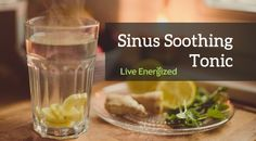 Do you suffer from sinusitis or blocked sinuses? Have you got a cold or flu? Feeling that pain behind your eyes, cheekbones or teeth? Got that sinus headache? If so, you're going to LOVE this simple tonic. The combination of ingredients will clear the blockages, thin and eliminate the mucous and help dramatically reduce infection. Remember – sinusitis is a result of a vicious circle: inflammation causes the pain and mucous is produced as a response to this, but the production of mucous…