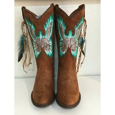 Bolsa feminina da moda puxar Floral Vintage Western Cowboy Gatinho salto meia panturrilha Botas