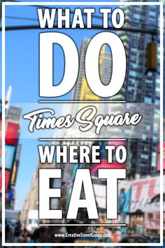 Times Square is busy, bustling and simply magical. There is so much to do and so many places to eat on Times Square. Read our blog to find out what our top choices are...