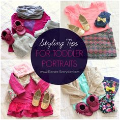 Toddler Styling Tips for Family Photos