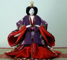 Hina Dolls, Asian Doll, Traditional Outfits, Disney Characters, Fictional Characters, Snow White, Japanese, Disney Princess, Antiques