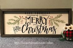 Christmas Wooden Signs, Rustic Christmas, Christmas Art, Christmas Items, Christmas 2019, Diy Christmas Decorations Easy, Christmas Projects, Holiday Crafts, Xmas Wreaths