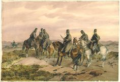 Vedettes of 13th Light Dragoons, Crimea