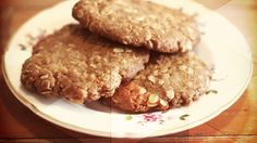 Anzac Biscuits - the Australian version of oatmeal cookies by Bill Granger from BC Living Biscuit Cookies, Biscuit Recipe, Anzac Biscuits, Celebration Day, Anzac Day, Oatmeal Cookies, Food Preparation, I Am Awesome, Sweet Tooth