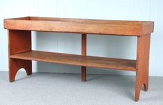 43 best primitive crock bench images on pinterest for Garcia s jewelry bench